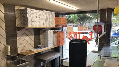 Vermietung: Pizzaservice mit allen Küchengeräten